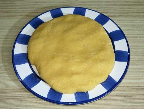 Apfelkuchen mit Zimtguss - Mürbeteig