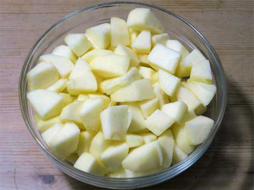 Apfelkuchen mit Zimtguss