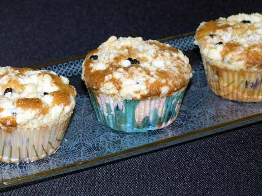 blaubeermuffins rezept mit streusel