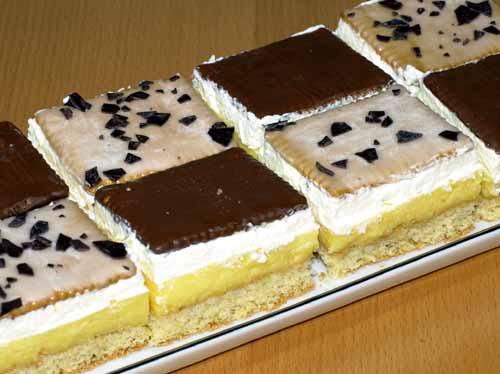 Butterkekskuchen Rezept Mit Orangensaft Pudding Sahne Biskuit