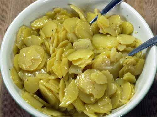 Rezept Kartoffelsalat Essig öl Senf