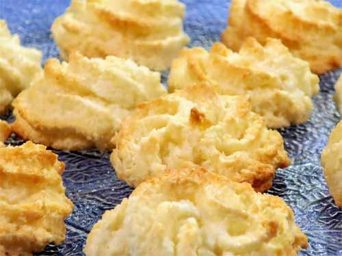 Rezept weihnachtsplatzchen kokosmakronen