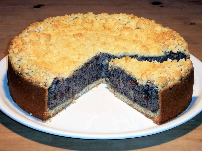 Saftiger Mohnkuchen Rezept Mit Streusel Schmand Murbeteig Und Mohnback