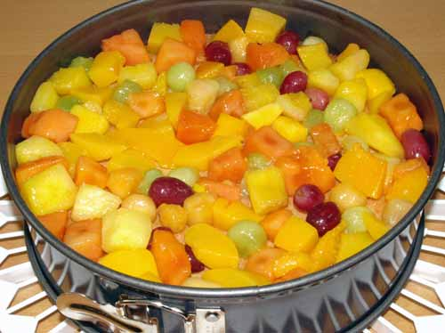 Obstkuchen Rezept Mit Biskuit Boden Und Buttercreme