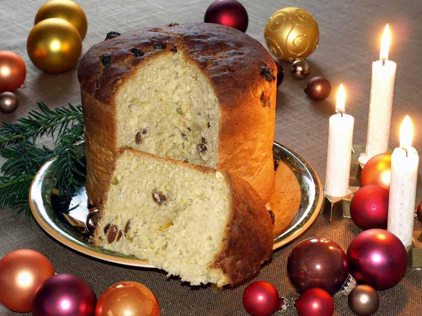 Panettone Rezept Italienischer Weihnachtskuchen Ohne Panettone Form