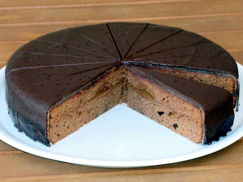 Sachertorte Rezept Wiener Schokoladentorte Mit Marzipan