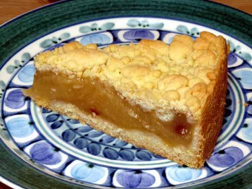 Schneller Apfelkuchen Rezept Einfacher Apfelmuskuchen Mit Streusel